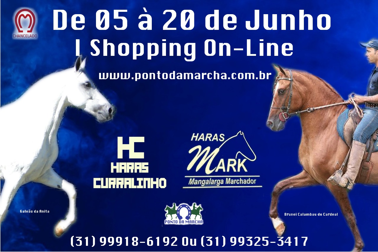 I SHOPPING ON-LINE HARAS MARK E HARAS CURRALINHO